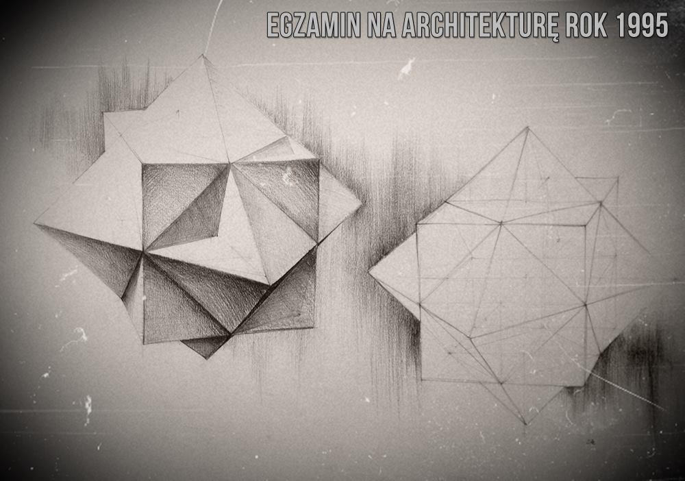 egzamin na architekturę geometria 1995