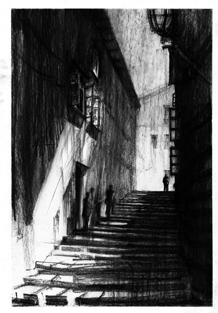 Nastrojowy rysunek w perspektywie Alicja Głowacka