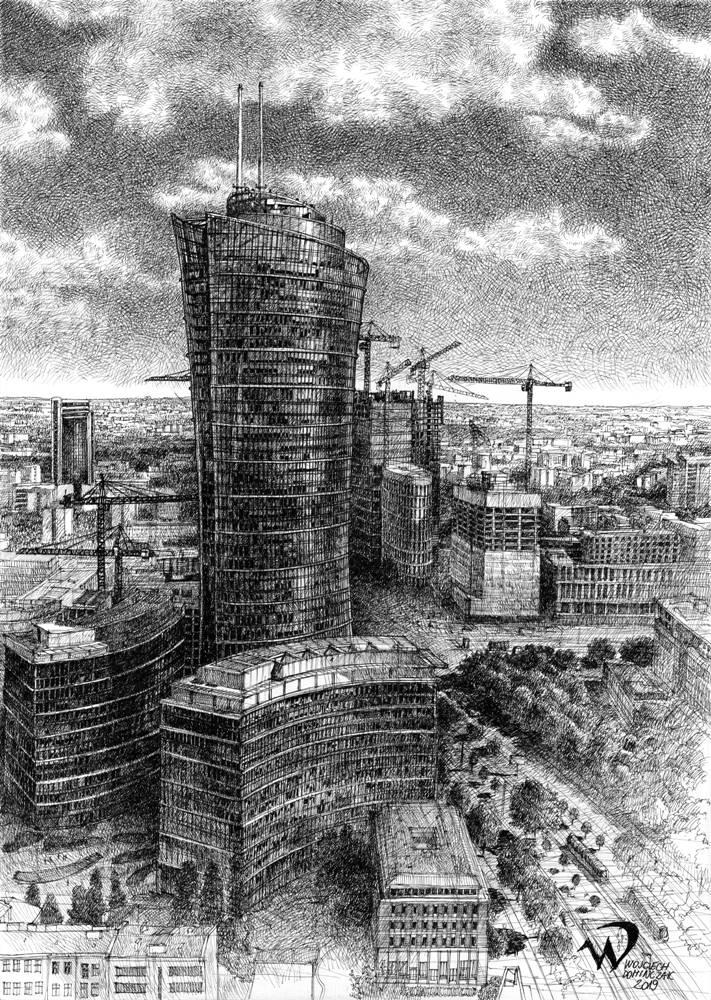Rysunek Wojciecha Domińczaka