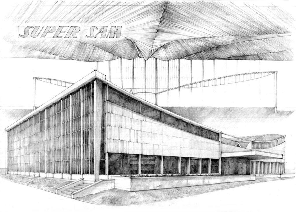 najlepszy rysunek na architekturę - Patryk Michalski