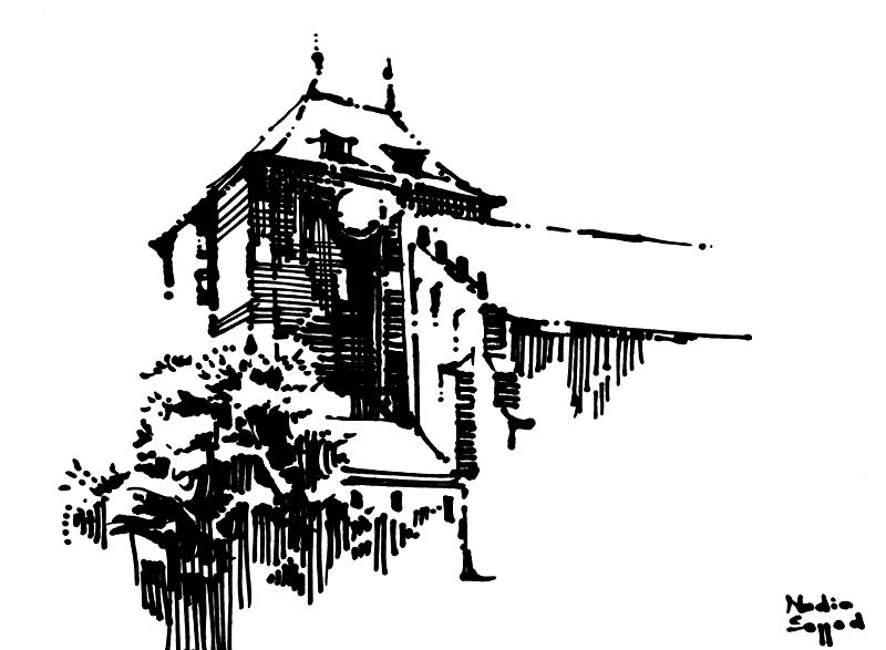 szkic kandydata na architekturę