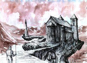 Egzamin na WAPW rysunek w wyobraźni