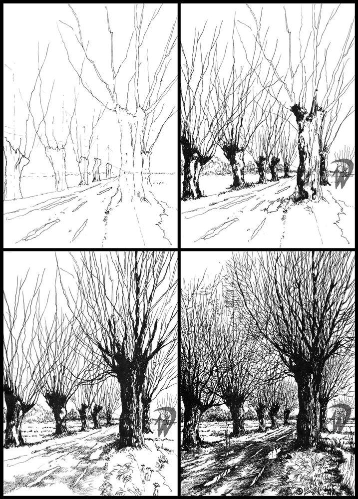 Kurs rysunk na architekturę krajobrazu