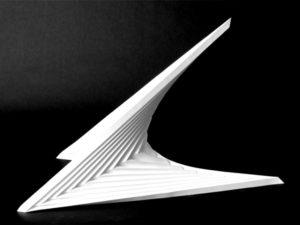 Modelowanie przestrzenne architektura papieroplastyka