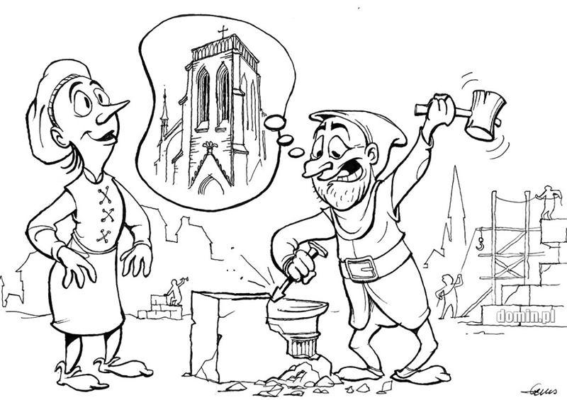 etos szkoły rysunku domin